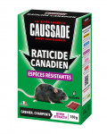 RATICIDE CANADIEN - 6 SACHETS CEREALES ESPECES RESISTANTES