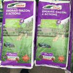 ENGRAIS GAZON 4 ACTIONS 10KG