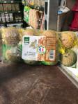 8 boules de graisse arachide insectes