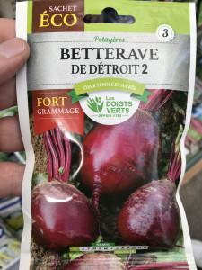 BETTERAVE DETROIT 3 GM DV