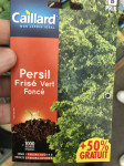 PERSIL FRISE VERT FONCE + 50%