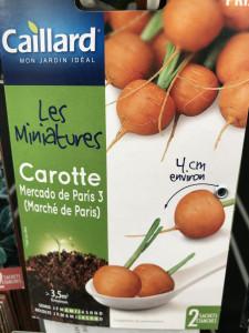 CAROTTE MARCHE DE PARIS         MIN