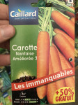 CAROTTE NANTAISE AMELIOREE 3 +