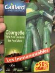 COURGETTE VERTE DES MARAICHERS