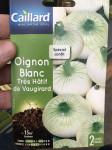 OIGNON BLANC TRES HATIF DE VAUGIRAR
