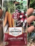 CAROTTE ET RADIS NANTAISE 2, DE 18