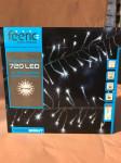 GUIRLANDE BOA BLANC FROID 5M. - 720 LEDS