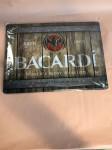 BACARDI - WOOD BARREL LOGO 40X30CM