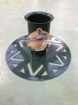 PIED DE SAPIN diam.9cm métal AVEC RESERVE D'EAU