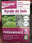 PHEROMONE CONTRE LA PYRALE DU BUIS