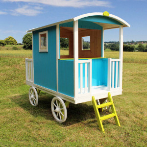 Cabane en bois pour enfant ROULOTTE CARRY