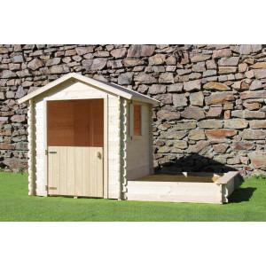 Cabane en bois pour enfant AMANDE