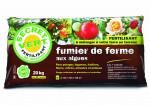 FUMIER DE FERME AUX ALGUES - FERTILISANT 20 KG